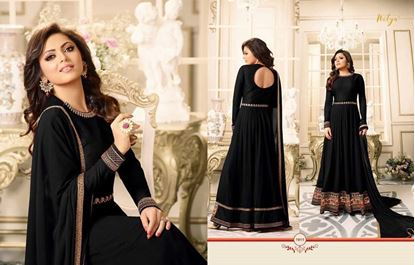 Picture of LT Fabric Original Indian Gown Black