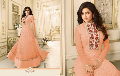 Picture of LT Fabric Original Indian Gown Pastel Pink
