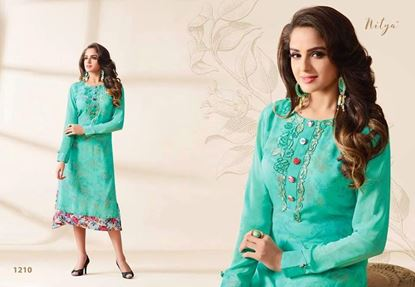 Picture of LT Original Indian Kurti  Jewel Turquoise