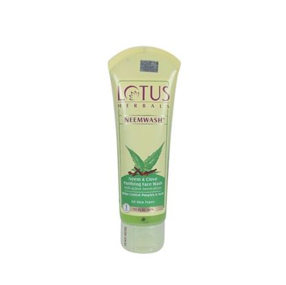 Picture of Lotus Herbals Neem and Clove Face Wash - 120g
