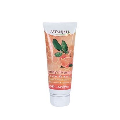 Picture of Patanjali Honey Orange Face Wash - 60g