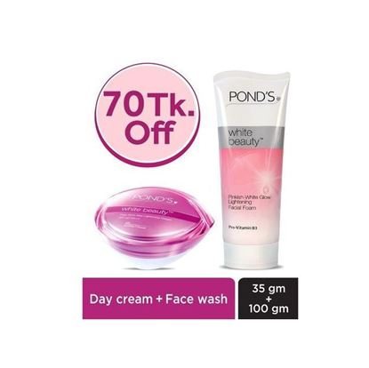 Picture of POND's White Beauty Day Cream And Face Wash Combo