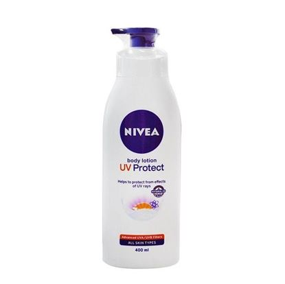 Picture of Nivea Body Lotion Uv Protect For Unisex - 400ml