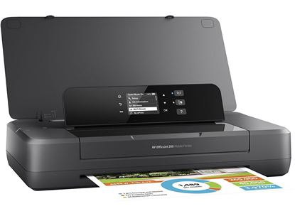Picture of HP OfficeJet 200 Mobile Printer - Black