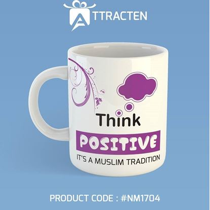 Picture of Attracten Think Positive Mug