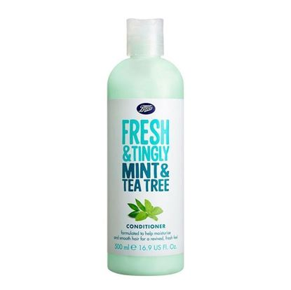 Picture of Boots Fresh & Tingly Mint & Tea Tree Conditionar - 500ml