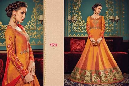 Picture of Vipul Original Indian Kurti Orange