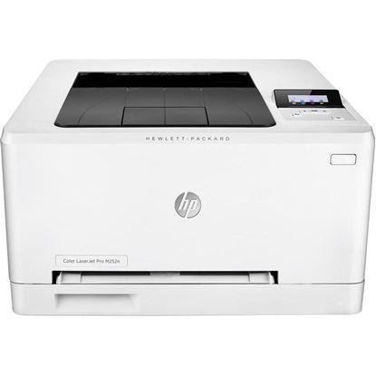 Picture of HP LaserJet Pro M252n Color Laser Printer - White