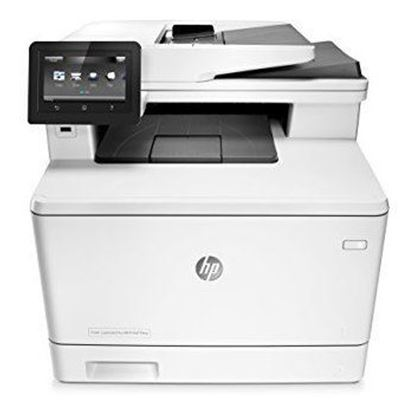 Picture of HP LaserJet Pro M477fnw Multi-Function Color Laser Printer - White