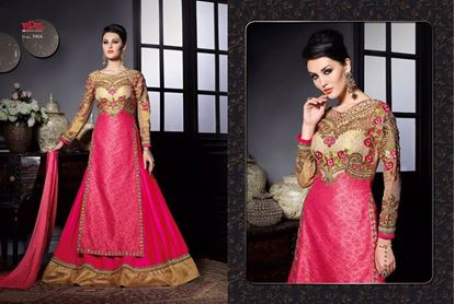 Picture of Vipul Zinnia Original Indian Gown Pink