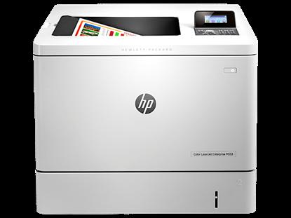 Picture of HP LaserJet Enterprise M553dn Color Laser Printer - White