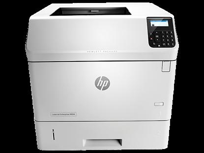 Picture of HP LaserJet Enterprise M604dn Monochrome Printer - White
