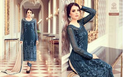 Picture of  Mohini Glamour Original Indian Dress Blue