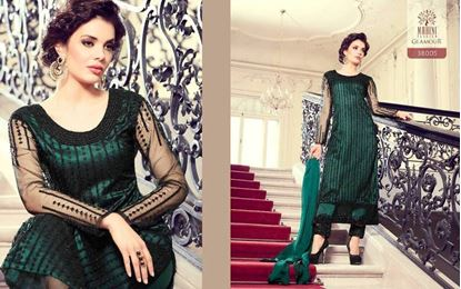 Picture of Mohini Glamour Original Indian Dress Green