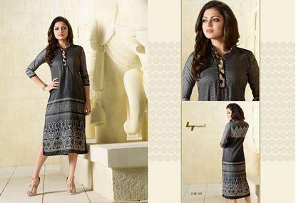 Picture of LT Fabric Original Indian kurti Black