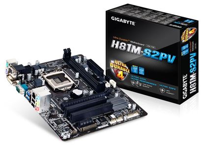 Picture of Gigabyte H81M-S2PV Motherboard