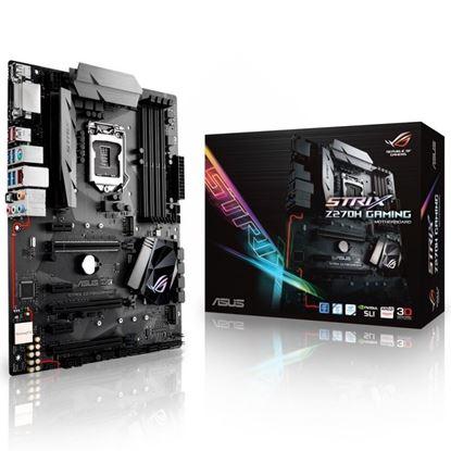 Picture of Asus ROG STRIX Z270H DDR4 Gaming Motherboard - Black