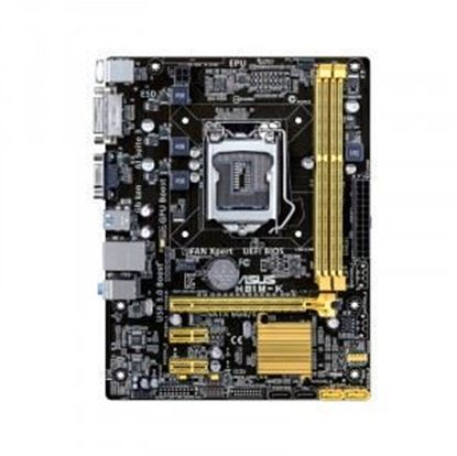 Picture of Asus H81M-K/C/SI Intel 4th LGA 1150 DDR3 Motherboard