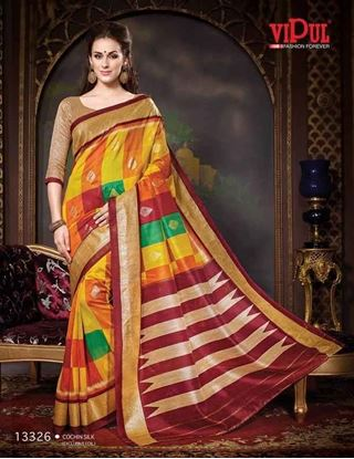 Picture of Original Indian saree Mix