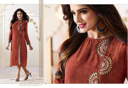 Picture of LT Original Indian Kurti Red