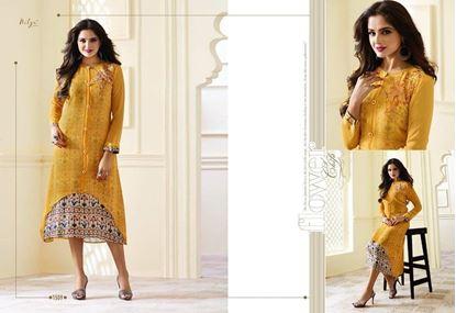 Picture of LT Original Indian Kurti Yellow