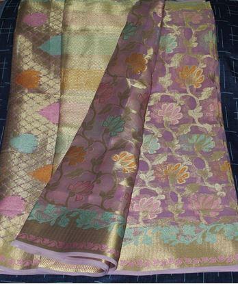 Picture of Original Indian tissue silk