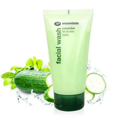 Picture of Boots Essentials Cucumber Facial Wash - 150ml