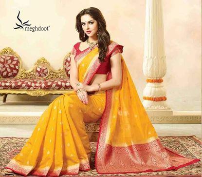 Picture of Original Indan Spun Silk Saree