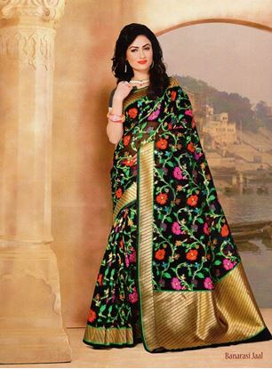Picture of Original INDIAN Pure MOSLINE SILK WOVEN