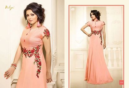 Picture of LT Original Indian Kurti Dusty Rose
