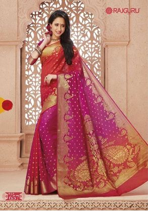 Picture of Original INDIAN Pure SILK Kataan Saree