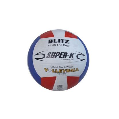 Picture of Super K  Rubber Volley Ball - Multicolor