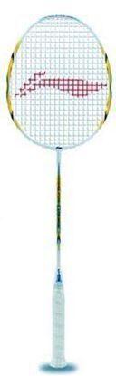 Picture of Li-Ning Lite 3600 G-Force Carbon Fiber Badminton Racquet, Size S2 (Gold)