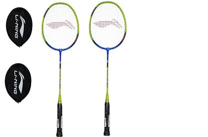 Picture of Li-Ning XP 810 Strung Badminton Racquet ( Pack of 2 Racket )