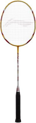 Picture of Li-Ning G-Tek 98 II Badminton Racquet (Gold/Grey)