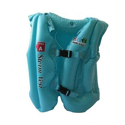 Picture of Inflatable Swimming Swim Vest 3-6 years - Sky