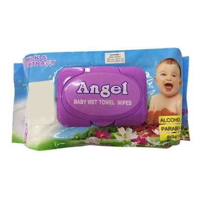 Picture of Angel Baby Towel Wipes-80Pcs