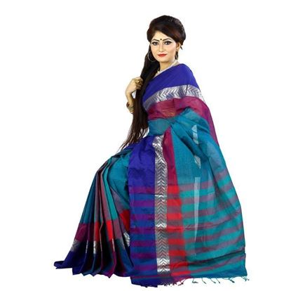 Picture of Multi-color Cotton Saree