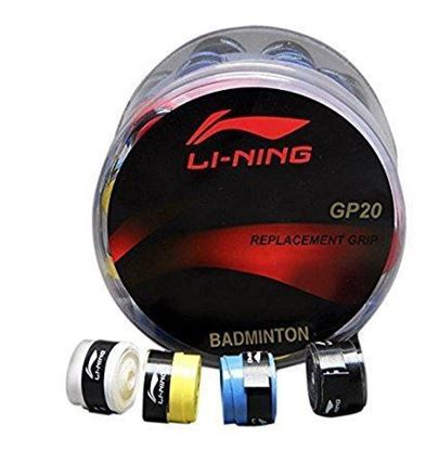 Picture of Li-ning Badminton Replacement Grip GP20 (Pack of 4 Grips) - Colors may vary