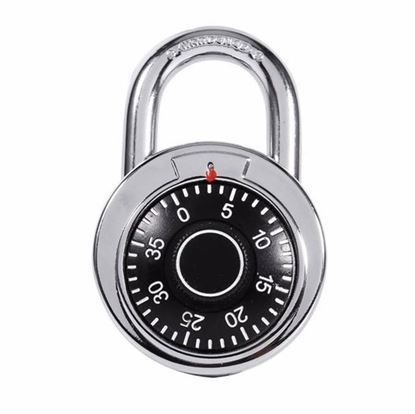 Picture of Digit Combination Code Padlock Lock - Silver