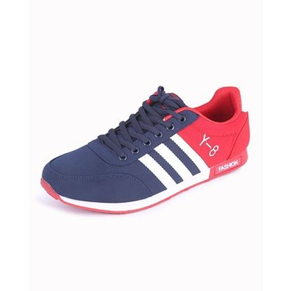 Picture of Synthetic Casual Sport Shoe For Men - Blue
