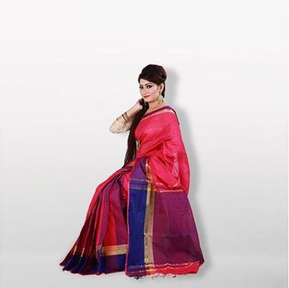 Picture of  Multi Color Cotton Saree For Women
