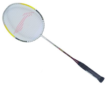 Picture of Li-Ning G Force 1000 Badminton Racquet (Silver/Yellow)