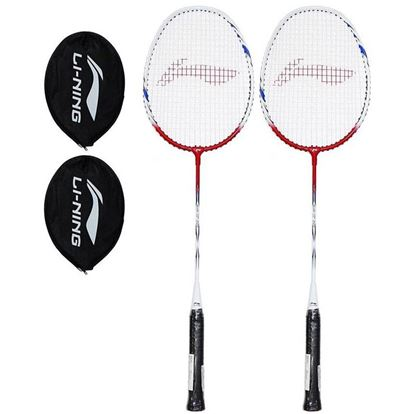 Picture of Lining XP Smash 809 Badminton Racquet (Pack of 2)