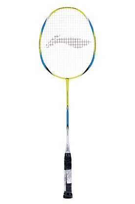 Picture of Li-Ning Pro-2600 G-Force Carbon Fiber Badminton Racquet, Size S2 (Yellow/Blue)