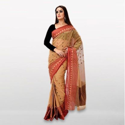 Picture of  Peru Cotton Casual Saree For Women