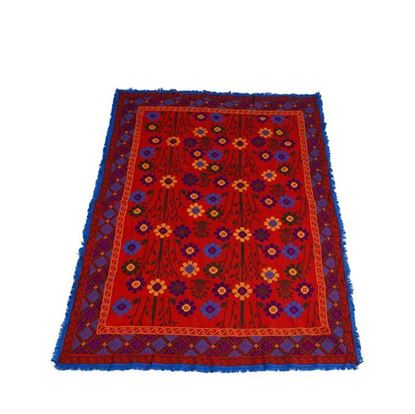 Picture of Hand Made Cotton Nakshi Kantha - Red