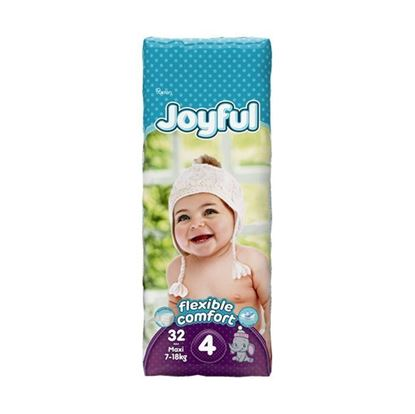 Picture of Joyful Baby Diaper Maxi - Flexible Comfort (7-18Kg) - 32Pcs
