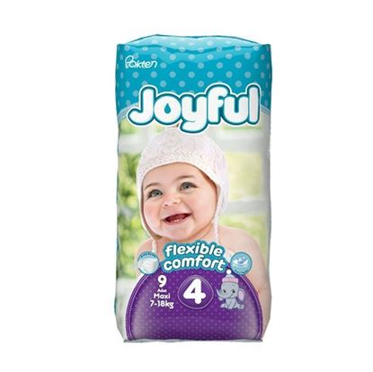Picture of Joyful Baby Diaper Maxi - Flexible Comfort (7-18Kg) - 9Pcs