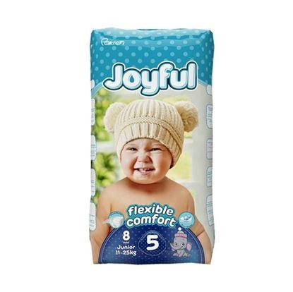 Picture of Joyful Baby Diaper Junior - Flexible Comfort (11-25Kg) - 8Pcs